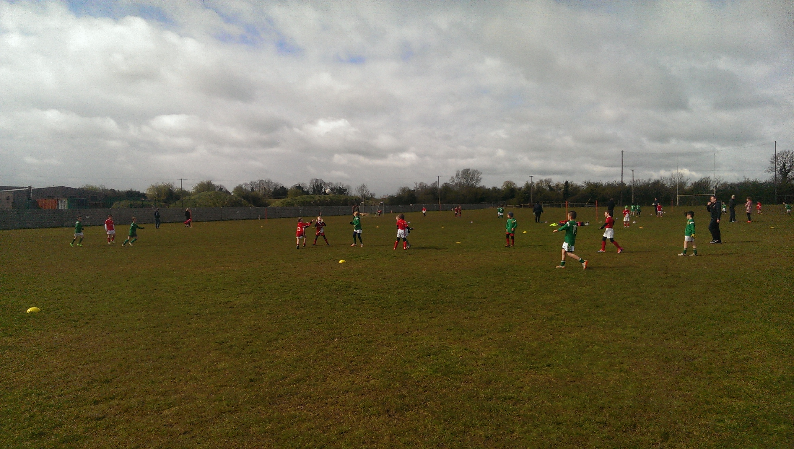 Action Pic against Trim U9  30th April 2016
