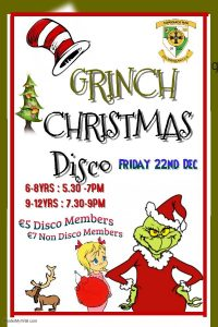 Christmas Grinch Disco