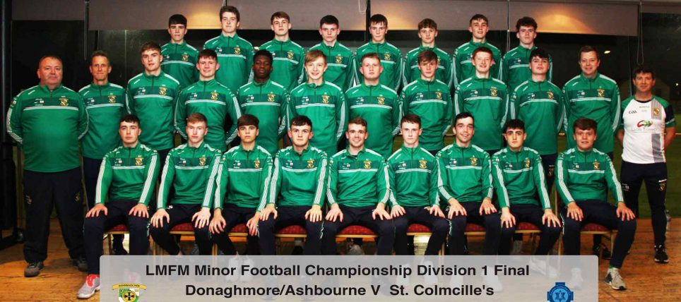 Minor-Football-Final-2018 Team Picture